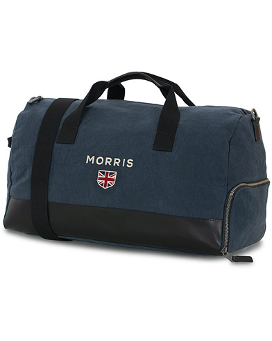 Morris Miller Canvas Weekendbag Navy/black  i gruppen Assesoarer / Vesker hos Care of Carl (16346410)