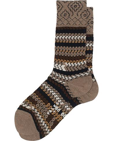 Falke Chunky Knit Sock Brown