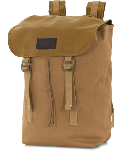 Filson Rugged Twill Ranger Backpack Tan Canvas  i gruppen Assesoarer / Vesker hos Care of Carl (16353710)