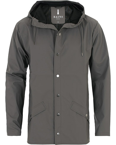 Rains Jacket Charcoal i gruppen Klær / Jakker / Regnjakker hos Care of Carl (16358611r)