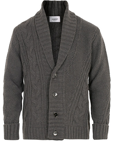 Dondup Wool Cardigan Grey i gruppen Klær / Gensere / Cardigans hos Care of Carl (16368911r)
