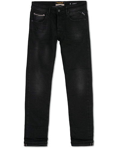 Replay Groover Stretch Selvedge Jeans Black i gruppen Klær / Jeans hos Care of Carl (16371511r)