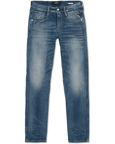 Replay Anbass Stretch Jeans Light Blue i gruppen Klær / Jeans hos Care of Carl (16371611r)