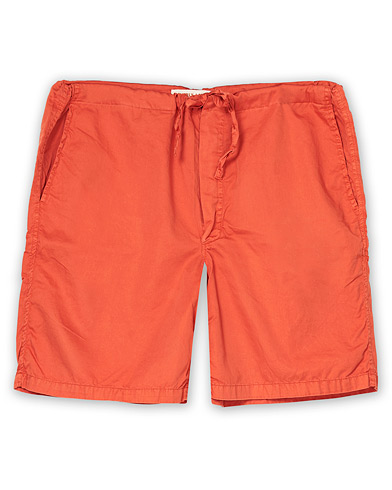 Cleverly Laundry Washed Cotton House Shorts Brick i gruppen Klær / Shorts / Joggebukseshorts hos Care of Carl (16404311r)