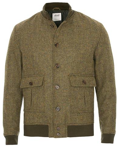 Valstar Valstarino Fox Flannel Tweed Jacket Green