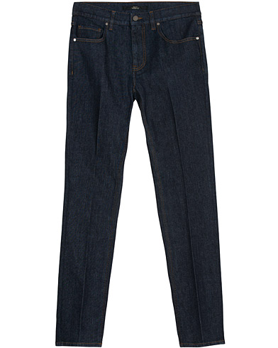 Z Zegna Slim Fit Stretch Jeans Indigo i gruppen Klær / Jeans hos Care of Carl (16440911r)