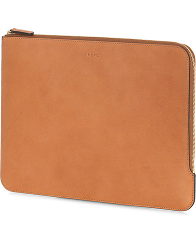 Mismo Protector Leather Laptop Case Tabac
