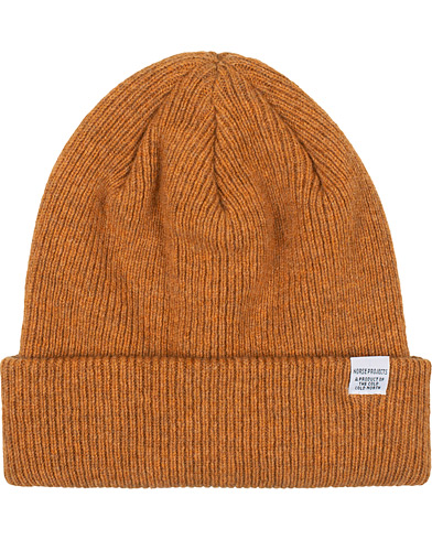 Norse Projects Norse Lambswool Beanie Montpellier Yellow  i gruppen Assesoarer / Luer hos Care of Carl (16449710)
