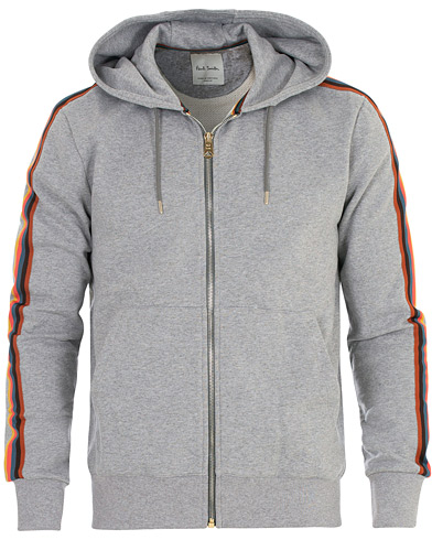 Paul Smith Mainline Sweat Hoodie Grey Melange i gruppen Klær / Gensere / Hettegensere hos Care of Carl (16460811r)