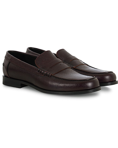 PS Paul Smith Teddy Loafer Burgundy Calf i gruppen Sko / Loafers hos Care of Carl (16462611r)