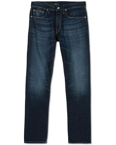 Polo Ralph Lauren Sullivan Slim Fit Murphy Stretch Jeans Mid Blue i gruppen Klær / Jeans hos Care of Carl (16487611r)