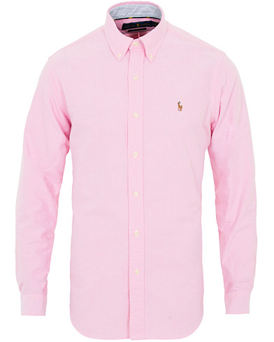 Polo Ralph Lauren Core  Fit Contrast Oxford Shirt Pink i gruppen Klær / Skjorter / Casual hos Care of Carl (16497911r)