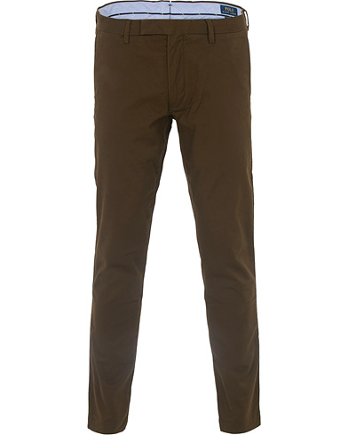 Polo Ralph Lauren Tailored Slim Fit Hudson Chino Holiday Brown i gruppen Klær / Bukser / Chinos hos Care of Carl (16500511r)