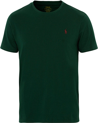 Polo Ralph Lauren Crew Neck Tee Green i gruppen Klær / T-Shirts / Kortermede t-shirts hos Care of Carl (16510811r)