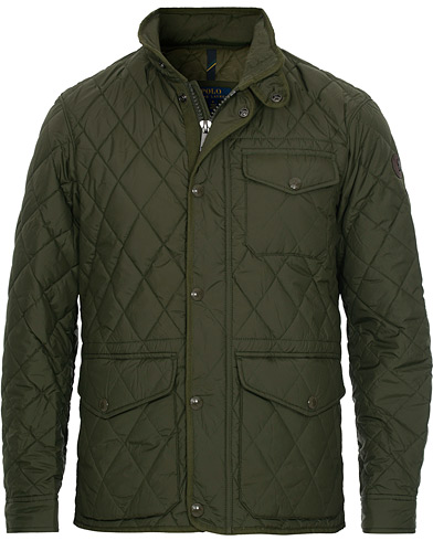 Polo Ralph Lauren Quilted Jacket Green i gruppen Klær / Jakker / Quiltede jakker hos Care of Carl (16512311r)