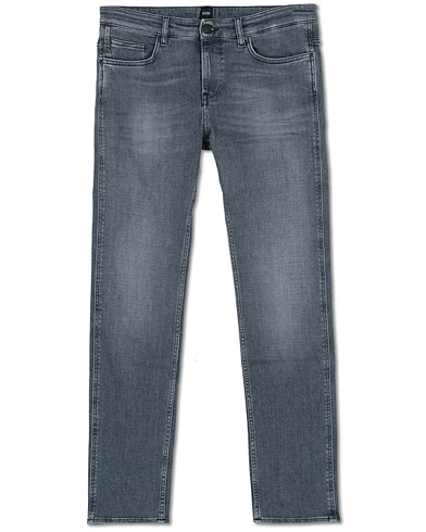 BOSS Delaware Stretch Candiani Jeans Grey i gruppen Klær / Jeans hos Care of Carl (16519911r)