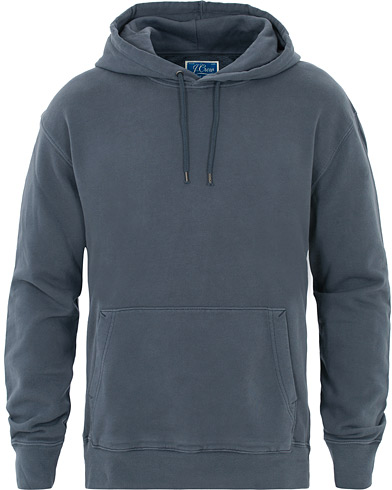J.Crew Classic French Terry Hoody Evening Storm i gruppen Klær / Gensere / Hettegensere hos Care of Carl (16538911r)