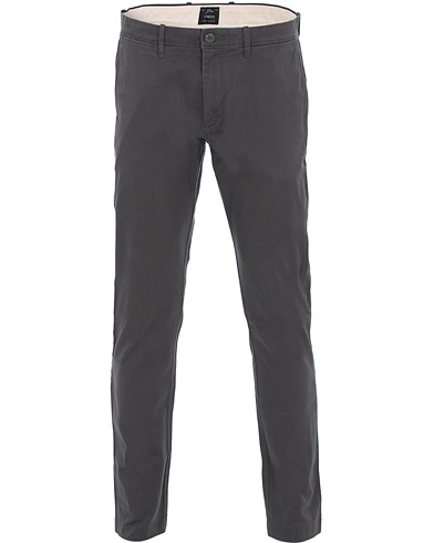 J.Crew 484 Slim Fit Stretch Cotton Twill Chinos Coal Grey i gruppen Klær / Bukser / Chinos hos Care of Carl (16541911r)