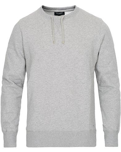 Ron Dorff Drawstring Sweatshirt Grey Melange