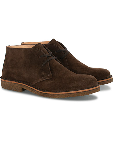 Astorflex Greenflex Desert Boot Dark Brown Suede