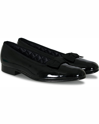 Bowhill & Elliott Opera Patent Leather Pumps Black i gruppen Sko / Loafers hos Care of Carl (16646211r)