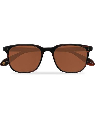 Garrett Leight Emperor Sun Sunglasses Mahogany Tortoise