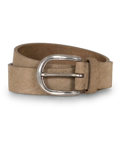 Brunello Cucinelli 3 cm Belt Brown Suede