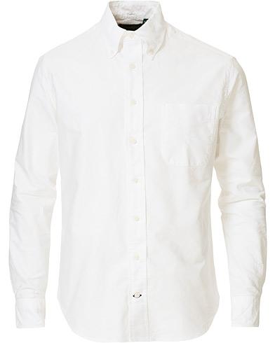 Gitman Vintage Button Down Oxford Shirt White