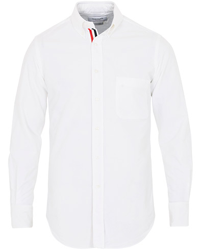 Thom Browne Contrast Oxford Button Down Shirt White