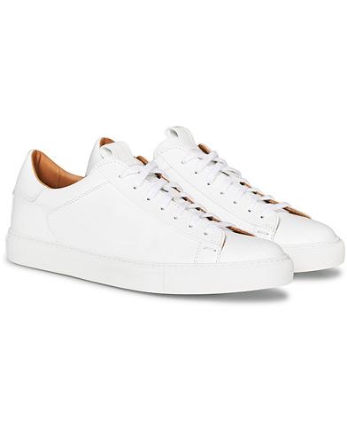 Slowear Officina Leather Sneaker White Calf