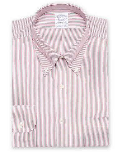 Brooks Brothers Regent Fit Non Iron Striped Shirt Red i gruppen Klær / Skjorter / Formelle hos Care of Carl (16745411r)