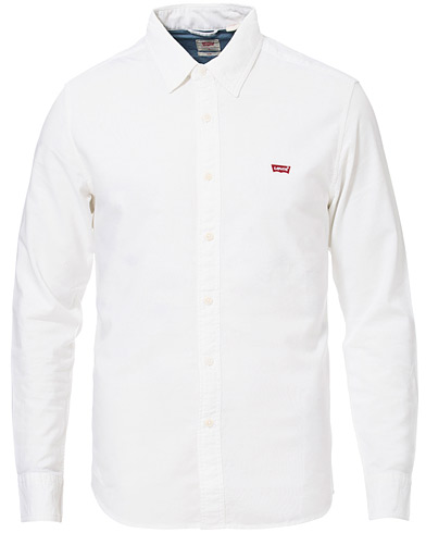 Levi's Slim Shirt White i gruppen Klær / Skjorter / Casual hos Care of Carl (16817911r)