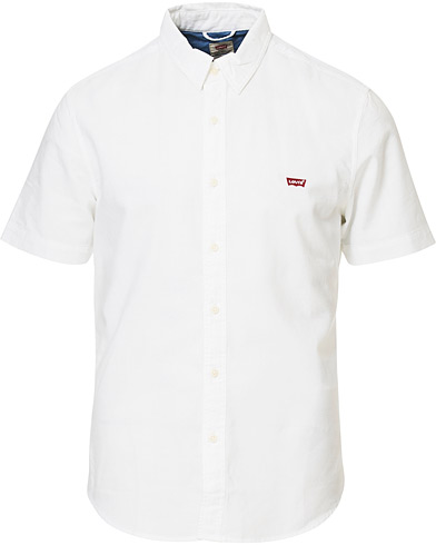 Levi's Short Sleeve Shirt White i gruppen Klær / Skjorter / Casual hos Care of Carl (16821911r)