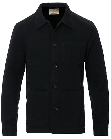 Nudie Jeans Barney Worker Jacket Black