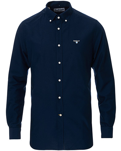 Barbour Lifestyle Tailored Fit Oxford 3 Shirt Navy i gruppen Klær / Skjorter / Casual hos Care of Carl (16845511r)
