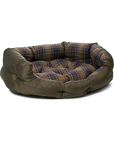 Barbour Heritage Quilted Dog Bed 35 Olive