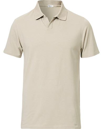 Filippa K Soft Lycra Polo T-Shirt Light Sage
