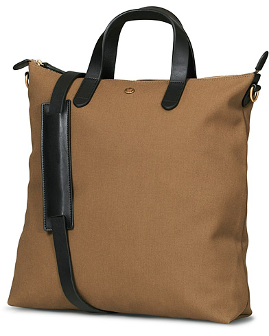 Mismo M/S Canvas Shopper Khaki/Black