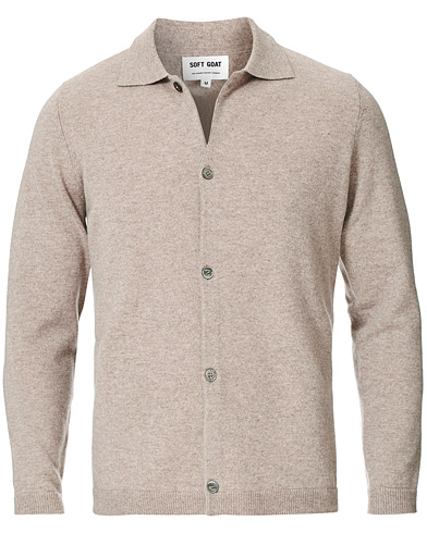 Soft Goat Cashmere Shirt Toast