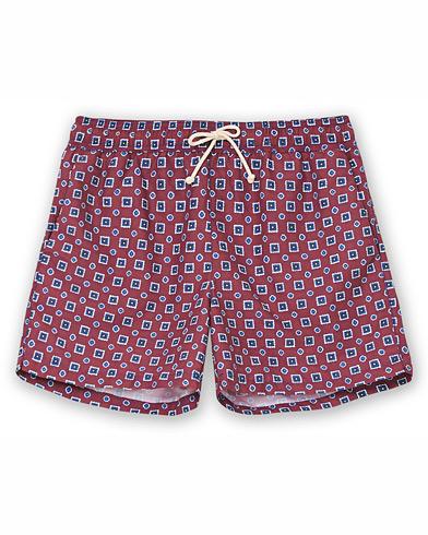 Ripa Ripa Scirocco Printed Swimshorts Red