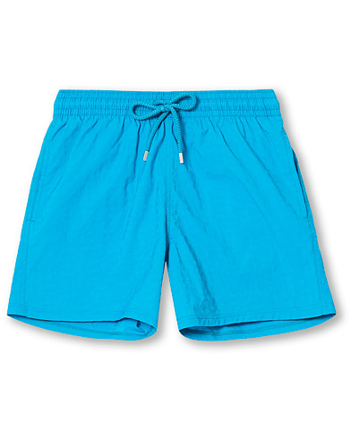 Vilebrequin Moorise Jacquard Tortues Stretch Swim Shorts Azurin i gruppen Klær / Badeshorts hos Care of Carl (17067311r)