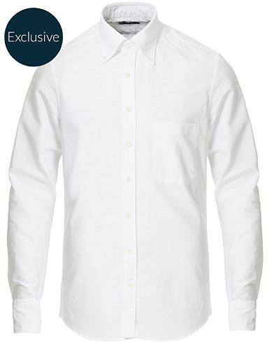 Stenströms Slimline Oxford Shirt White