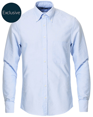 Stenströms Slimline Oxford Shirt Light Blue