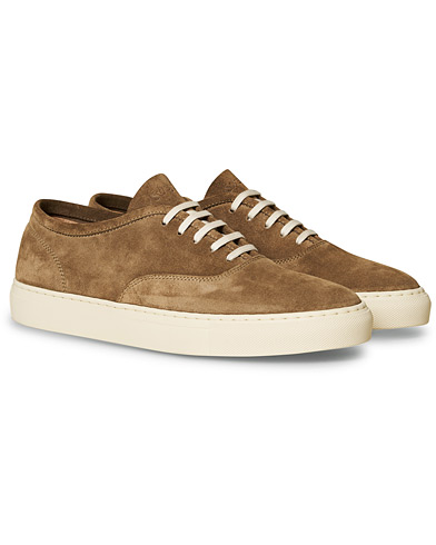 Sweyd Deck Suede Sneakers Bark i gruppen Sko / Sneakers / Sneakers med lavt skaft hos Care of Carl (17087111r)