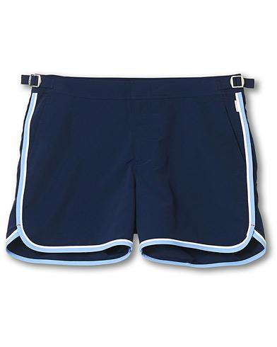 Orlebar Brown Setter Binding Swim Shorts Navy/Sea Breeze