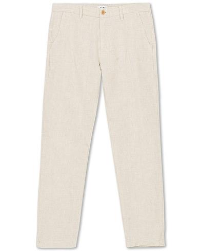 NN07 Karl Linen Trousers Oat