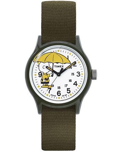 Timex MK1 Resin Charlie Brown White Dial