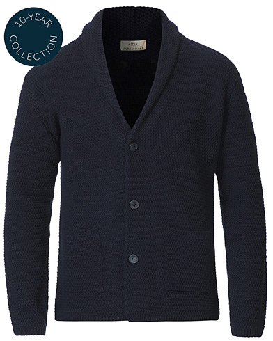 Altea Shawl Collar Cardigan Navy i gruppen Klær / Gensere / Cardigans hos Care of Carl (19074211r)
