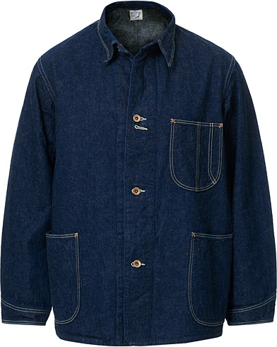 orSlow 40s Coverall Jacket One Wash