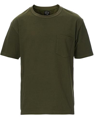 orSlow Military Pocket Tee Dark Olive